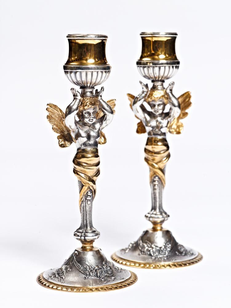 Серебряное зеркало в подарок на Рождество