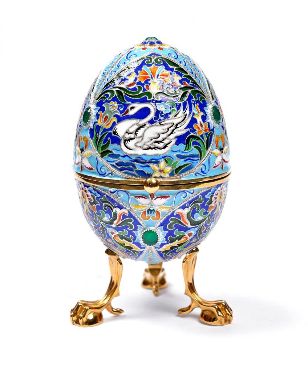 Ювелирное яйцо в подарок на Пасху