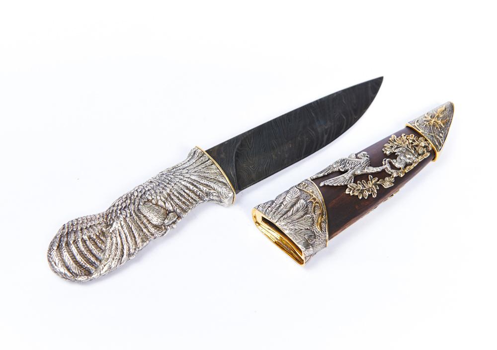 Поздравления в подарок нож